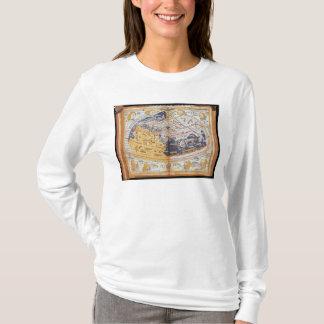 T-shirt Carte du monde, 1486