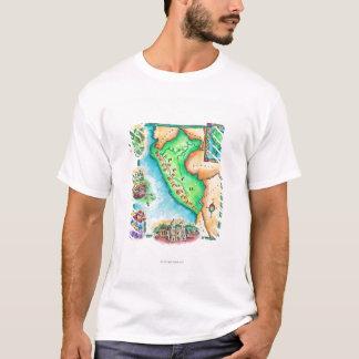 T-shirt Carte du Pérou