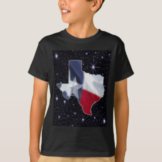 T-shirt Carte du Texas
