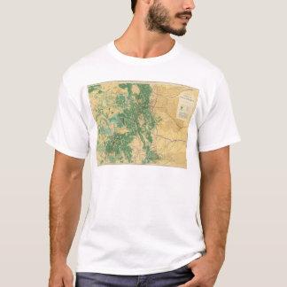 T-shirt Carte économique du Colorado