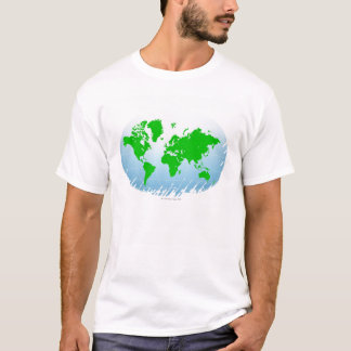 T-shirt Carte globale