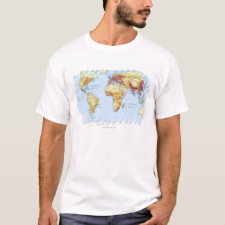 T-shirt Carte illustrée 3
