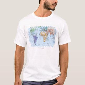 T-shirt Carte illustrée 4