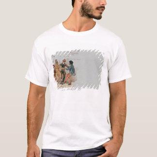 T-shirt Carte postale commémorative La d'opéra '