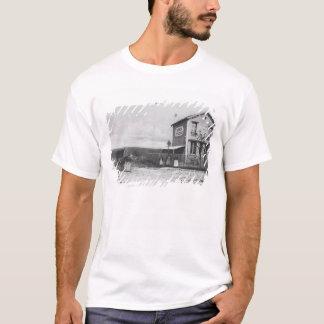 """T-shirt Carte postale dépeignant un """"panorama"""" près"""