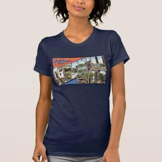 T-shirt Carte postale vintage de montagnes de Catskill