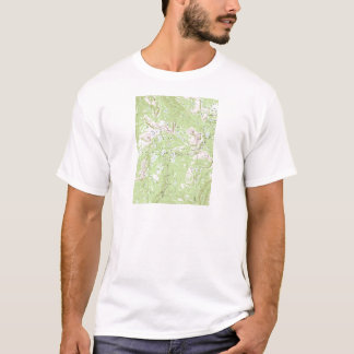 T-shirt Carte topographique