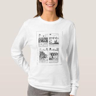 T-shirt Cartes de jeu commémorant