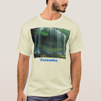 T-shirt Cascade, cascades