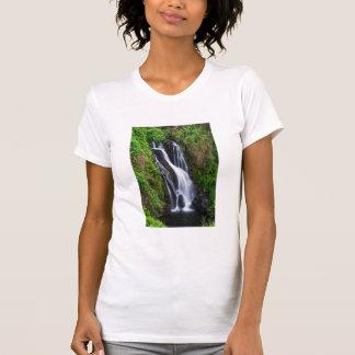 T-shirt Cascade, côte de Hamakua, Hawaï
