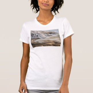 T-shirt Cascade de Godafoss, hiver, Islande