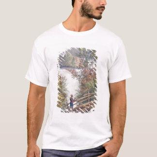 T-shirt Cascade d'Itamaraty dans le Serra DA Estrela