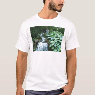 T-shirt Cascade et Hostas