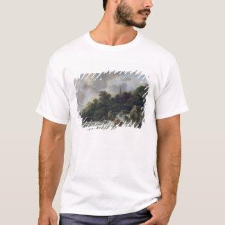 T-shirt Cascade près d'un village, c.1665-70