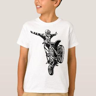 T-shirt Cascades de moto