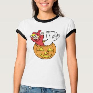 T-shirt Casper et Wendy en citrouille