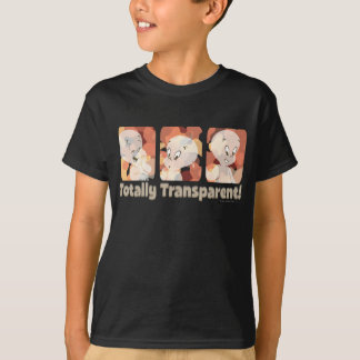 T-shirt Casper totalement transparent