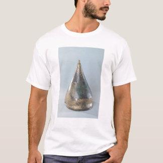 T-shirt Casque avec la décoration incisée
