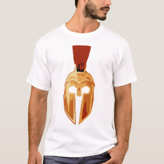 T-shirt Casque spartiate