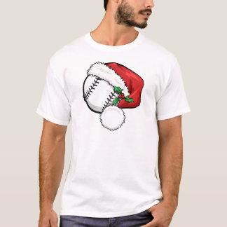 T-shirt Casquette de Père Noël de base-ball