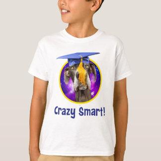 T-shirt Casquette de port de chien drôle d'obtention du