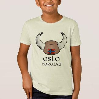 T-Shirt Casquette d'Oslo Norvège Viking