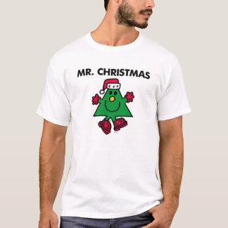 T-shirt Casquette et gants de fête de M. Christmas  