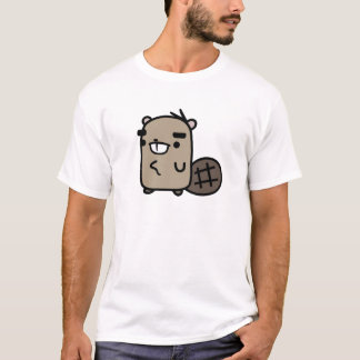 T-shirt Castor