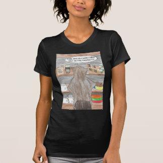 T-shirt Castor affamé