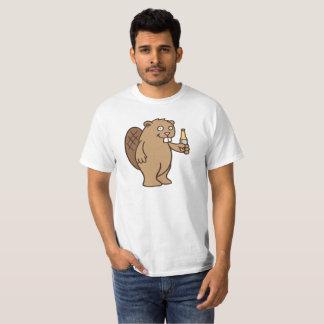 T-shirt Castor de boissons alcoolisées