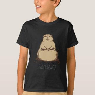 T-shirt Castor désireux