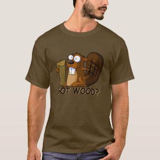 T-shirt Castor drôle et grossier