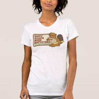 T-shirt Castor heureux 1