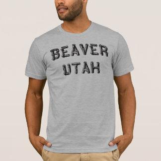 T-shirt Castor Utah