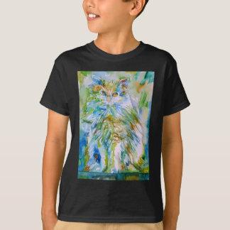 T-shirt CAT .2 d'aquarelle