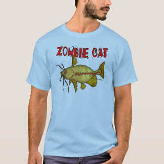T-SHIRT CAT DE ZOMBI