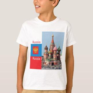 T-shirt Cathédrale de St Basil. La Russie