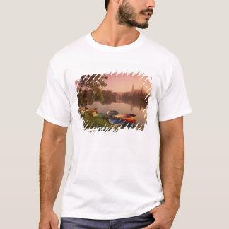 T-shirt Cathédrale et rivière Tormes, Salamanque, Castille