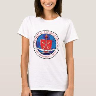 T-shirt catholique de crête de Homeschool