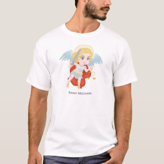 T-shirt Catholique mignon de St Michael Arkhangel