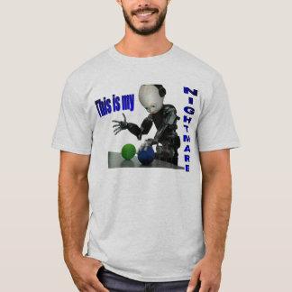 T-shirt Cauchemar de robot