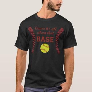 T-shirt Cause il est tout au sujet de la chemise BASSE du