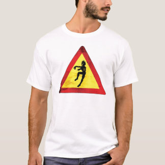 T-shirt Cautious - Zombies