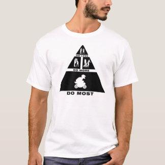 T-shirt Cavalier de vélo de poche