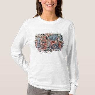 T-shirt Cavalier normand sur un cheval pie