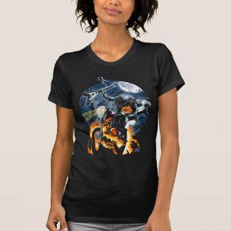T-shirt Cavalier sans tête de cycliste