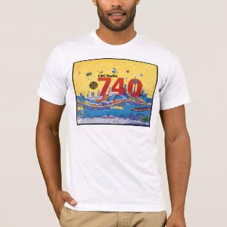 T-shirt  CBC Radio 740 - Habillage promotionnel (1980)