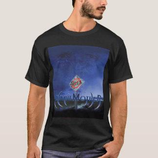 """T-shirt CD de noir d'art de """"AUCUNES RÈGLES"""" des"""