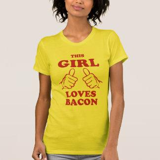 T-shirt Ce lard d'amour de fille