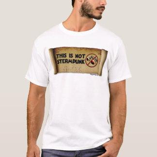 T-shirt Ce n'est pas Steampunk